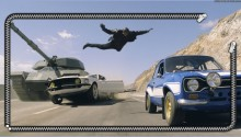 Download fast and the furious 6 PS Vita Wallpaper