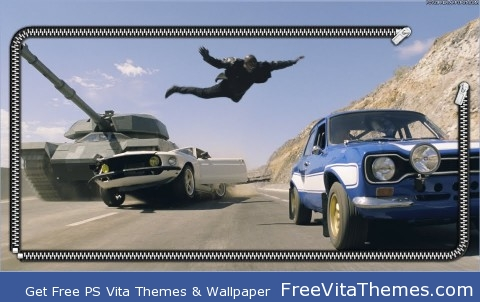fast and the furious 6 PS Vita Wallpaper