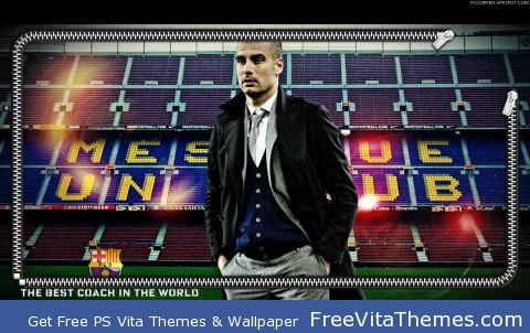 Pep Guardiola (1) PS Vita Wallpaper