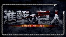 Download Attack On Titan Logo Lockscreen PS Vita Wallpaper