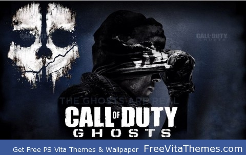 Call Of Duty Ghost PS Vita Wallpaper