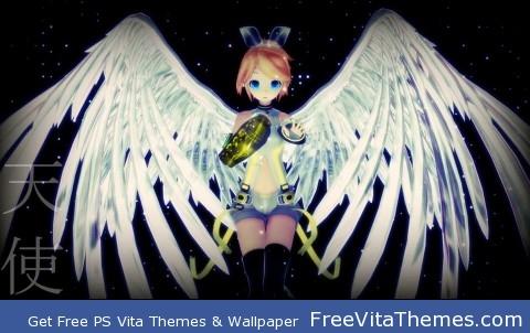 Kagamine Rin PS Vita Wallpaper
