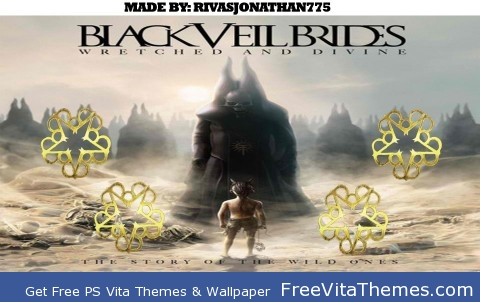 Black Veil Brides Wretched and Divine wallpaper PS Vita Wallpaper