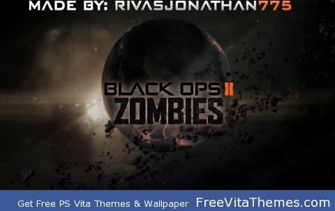 Black Ops 2 Zombies Earth PS Vita Wallpaper