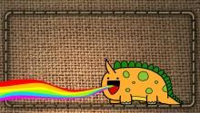 Download Cute Dinosaur PS Vita Wallpaper