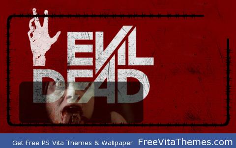 Evil Dead Lockscreen PS Vita Wallpaper