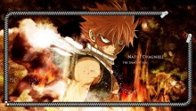 Download Natsu Fairy Tail Lockscreen PS Vita Wallpaper