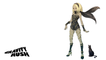 Download Gravity Rush Transparent PS Vita Wallpaper