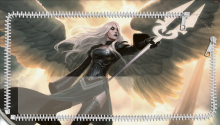 Download Mtg Avacyn Restored Lockscreen PS Vita Wallpaper