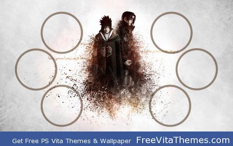 itachi &sasuke PS Vita Wallpaper