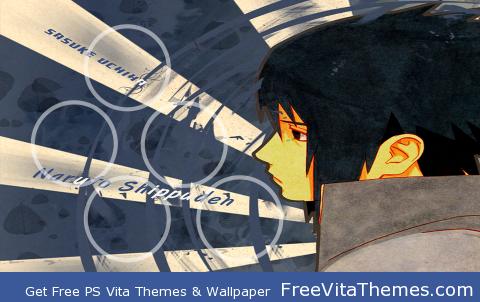 sasuke PS Vita Wallpaper