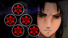 Download sasuke mangekyo sharingan PS Vita Wallpaper