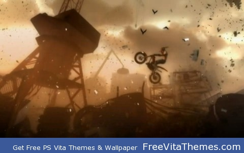 Urban Trial Freestyle PS Vita Wallpaper