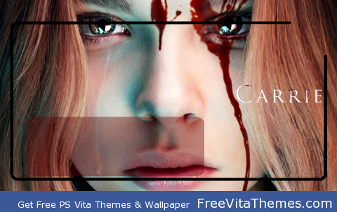 Carrie 2013 Lockscreen PS Vita Wallpaper