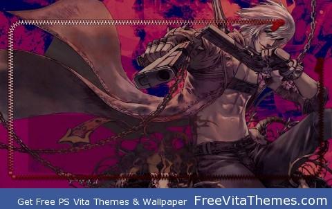 Dante Lockscreen PS Vita Wallpaper