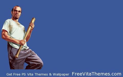 GTA 5 Trevor Transparent PS Vita Wallpaper