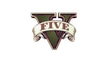 Download GTA 5 Transparent Logo PS Vita Wallpaper