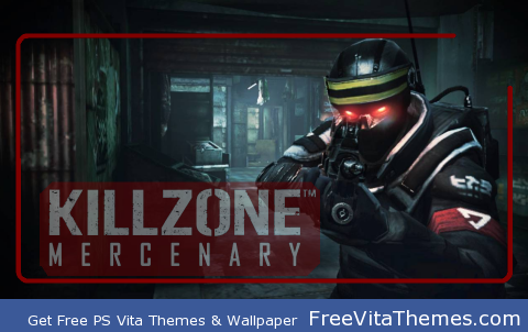 Killzone Mercenary Lockscreen PS Vita Wallpaper