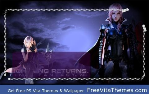 Lightning Returns: FFXIII PS Vita Wallpaper