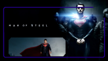 Download Man Of Steel Lockscreen PS Vita Wallpaper