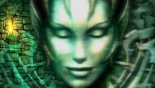 Download Slumbering mounted goddess PS Vita Wallpaper