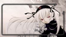 Download Suigintou Rozen Maiden Lockscreen PS Vita Wallpaper