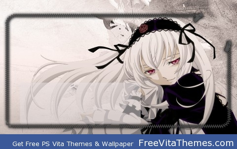 Suigintou Rozen Maiden Lockscreen PS Vita Wallpaper
