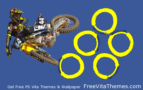 dirt bike whip PS Vita Wallpaper