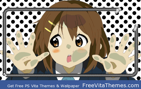 Yui PS Vita Wallpaper