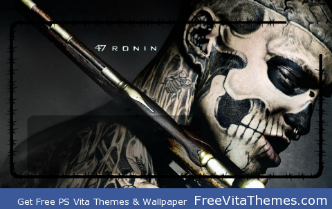 47 Ronin Lockscreen 3 PS Vita Wallpaper