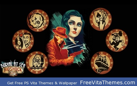 Burial at Sea PS Vita Wallpaper