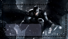 Download Batman Arkham Origins Lockscreen PS Vita Wallpaper