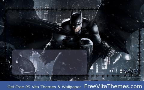 Batman Arkham Origins Lockscreen PS Vita Wallpaper