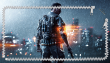 Download Battlefield 4 Lockscreen PS Vita Wallpaper