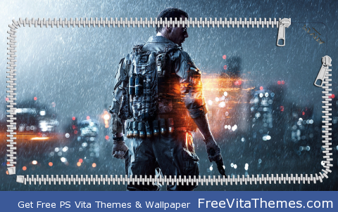 Battlefield 4 Lockscreen PS Vita Wallpaper
