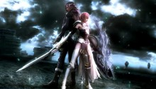 Download Lightning & Caius lock in battle PS Vita Wallpaper