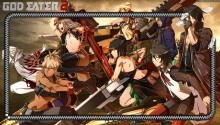 Download God eater 2 PS Vita Wallpaper