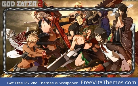 God eater 2 PS Vita Wallpaper