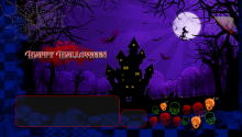 Download Happy Halloween PS Vita Wallpaper