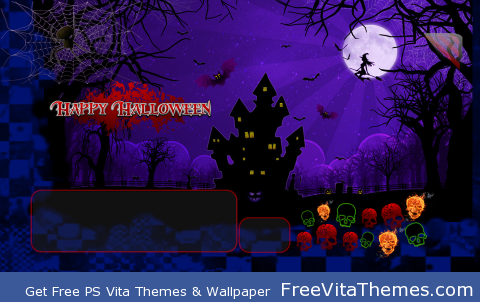 Happy Halloween PS Vita Wallpaper