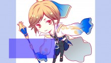 Download Guo Jia chibi PS Vita Wallpaper