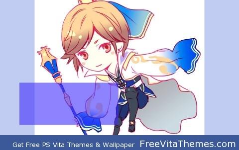 Guo Jia chibi PS Vita Wallpaper