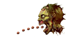 Download zombie PS Vita Wallpaper