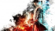 Download Dante – Son of Sparda w guns and sword PS Vita Wallpaper