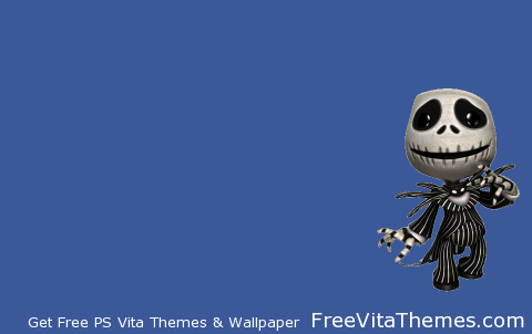 LBP Nightmare Before Christmas Jack Transparent PS Vita Wallpaper