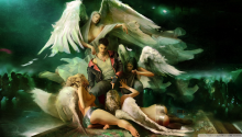 Download Dmc Dante Surrounded By Demons Pretending To Be Angels PS Vita Wallpaper