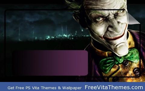 The Joker PS Vita Wallpaper