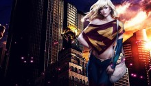 Download Supergirl DC Comic PS Vita Wallpaper