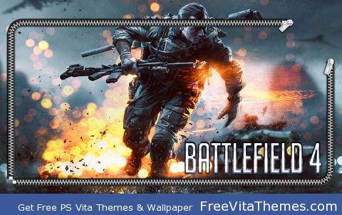 Battlefield 4 Lock PS Vita Wallpaper