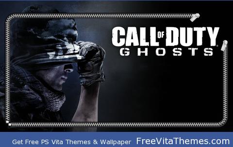 Call of Duty Ghost Lock PS Vita Wallpaper